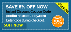 Poolfurnituresupply.com 5% off promotion